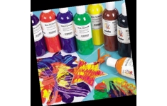 Scola. Multicrom Cromar Paint. 10 Assorted Colours  500ml