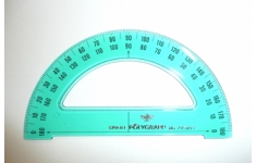 Polygraph Protractor Dia. 130mm.