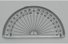 Hellerman Student Protractor Dia. 100mm.