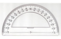 Hellerman Professional Protractor Dia. 150mm.