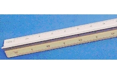 Linex Triangular Scale Rule. 300mm. Scale 1:100-200-250-300-400-500