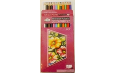 Royal Langnickel Colouring Pencils  12 Assorted Colours