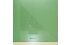 Hellerman Acrylic Professional  45° 365mm Square Edged