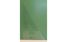 Hellerman Acrylic Professional 60° 210mm Square Edged