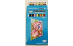 Royal Langnickel Watercolour Pencils 12 Assorted Colours
