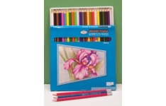 Royal Langnickel Watercolour Pencils 24 Assorted Colours
