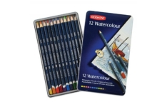Derwent Watercolour Pencils 12 Assorted Colours