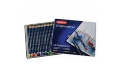 Derwent Watercolour Pencils 24 Assorted Colours