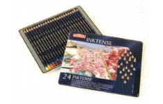 Derwent Inktense Pencils 24 Assorted Colours