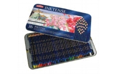 Derwent Inktense Pencils 36 Assorted Colours