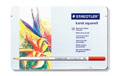 Staedtler Karat Aquarell. 12 Assorted Colours