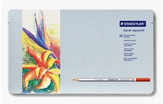 Staedtler Karat Aquarell. 60 Assorted Colours