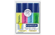 Staedtler Highlighters. 4 Assorted Colours