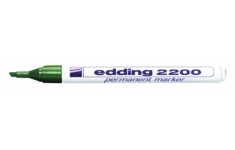 edding 2000 Marker. Chisel Tip. 10 Markers of 1 Colour
