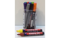 edding Watercolour Markers. Tub of 12 Assorted Colours