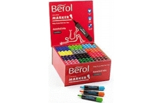 Berol Watercolour Markers. 144 Assorted Markers