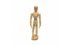 Wooden Manikin Male 300mm