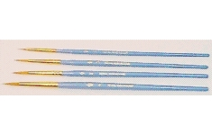 Royal Lancg Nickel crafters choice brush sets.Pack of 4 brushes 1, 3, 5, 6.