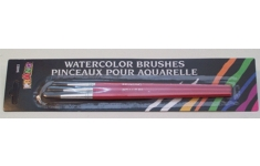 Prang Watercolour Brushes. Pack 3 Assorted Size Brushes