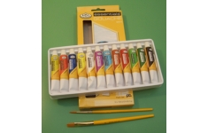 Essentials Gouache. Set of 12 Assorted Colours