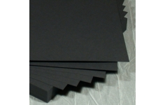Black Coloured Card A4 Size. 100 Sheets  170gsm