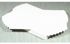 White Card 255g/380micron. A2. 100 Sheets