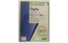 FlipFile Recycled Display Books. A3 10 Pockets