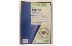 FlipFile Recycled Display Books. A3 20 Pockets