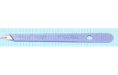 Swann - Morton Scapel. Plastic Handle. No. 10A Blade