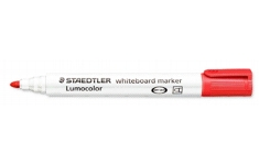 Staedtler Whiteboard Markers. Bullet Tip. Unit of 10 Pens