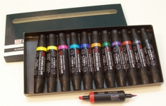 Kurecolour 1100. Twin Tip Marker. Set of 12 Markers.