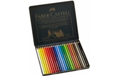 Faber-Castell Polychromos Artist. 24 assorted colours.