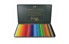 Faber-Castell Polychromos Artist. 36 assorted colours.