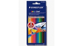 Staedtler Noris Club Aquarell. 12 Assorted Colours