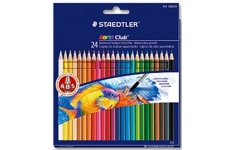 Staedtler Noris Club Aquarell. 24 Assorted Colours