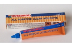 Humbrol All Purpose Clear Adhesive. 12ml Tube