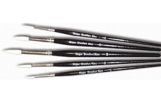 Synthetic Sable Brush. Pack of 5