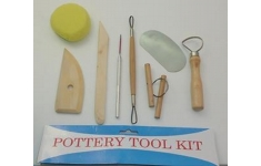 Major Brushes Pottery Tool Kit