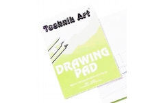 Technik Art Drawing Pad. Size A4 90gsm