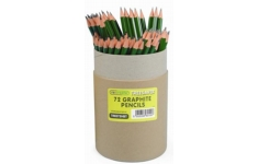 Recycled Pencils. Tub of 72 HB Pencils