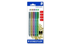 Staedtler Metallic Marker. Pack of 5 Assorted Pens