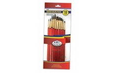 Royal Langnickel Super Value Paint Brush Pack Sable Hair: