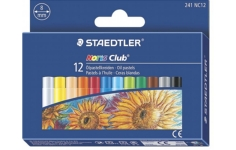 Staedtler Noris Oil Pastels set of 12 assorted colours