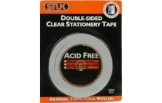 STUK Double sided Tape 24mm x 33m