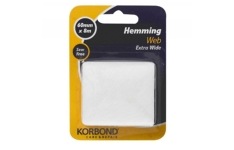Korbond 60 mm x 8 m Extra-Wide Hemming Web