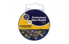 Korbond 10g Professional Glass Headed Pins