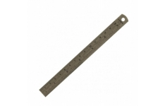 Linex Stainless Steel Ruler Metric - Imperial Length: 150mm