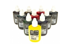 Brian Clegg Marbling Ink Set of 12