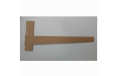 Hellerman Pine Wood Tee Square A3 500mm