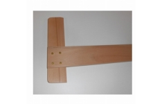 Hellerman Pine Wood Tee Square A2 650mm .Single